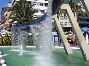 Fountain in Torrevieja